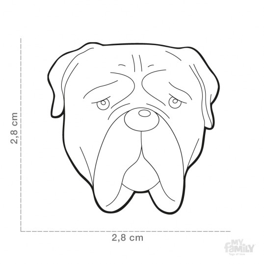 HundetegnBullmastiff-01