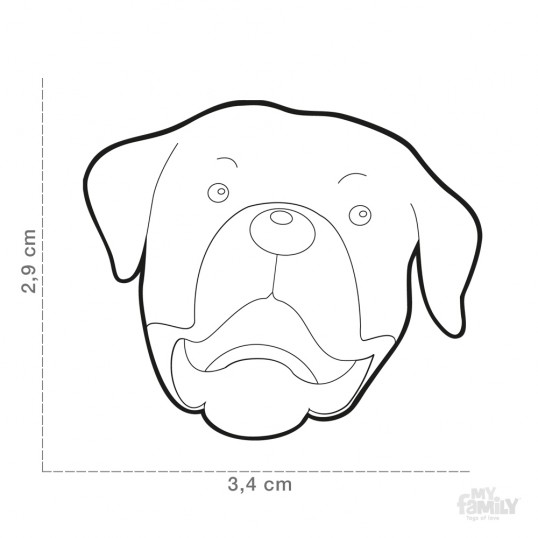 HundetegnRottweiler-01
