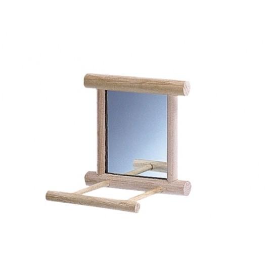Spejl med siddepind.