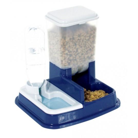 Automat til både foder og vand.