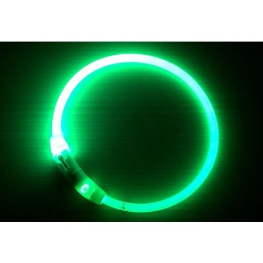 FlashlightlyshalsbndtilhundiplastnylonGenopladeligtviaUSBkabel-01