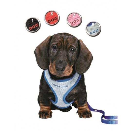 Puppy Dog Soft hvalpesele med matchende line