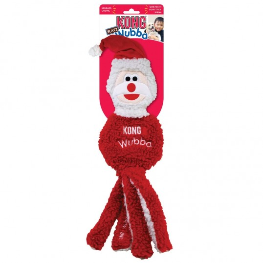 Kong Holiday Wubba Santa.