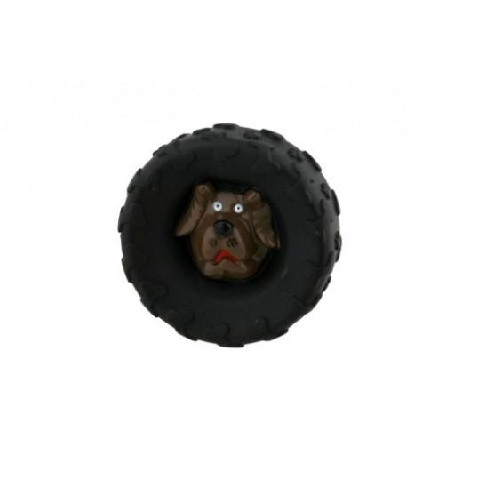 PF Hundelegetøj Dæk med hundehoved. Tilbud 2 stk 40 kr.