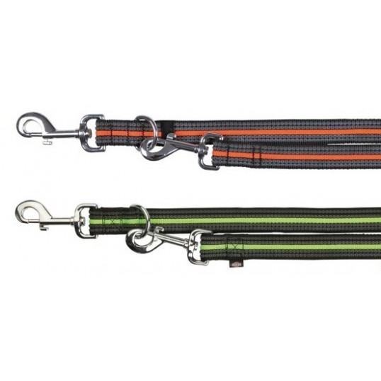 Fusion Dressurline regulerbar i tre trin med 2 karabinhager.