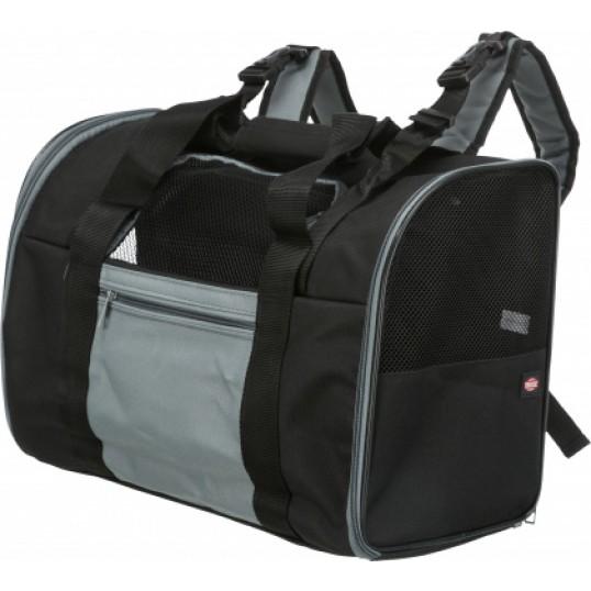Tbag rygsæk transporttaske. Sort/Grå.