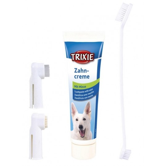 Tandplejesæt.