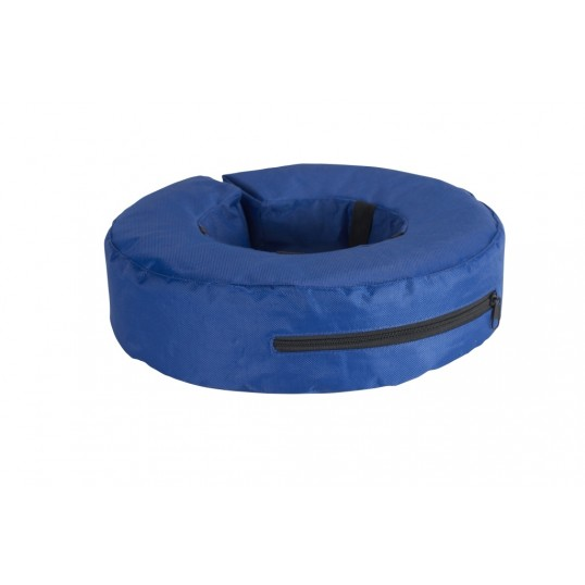 Buster oppustelig krave i mørkeblå nylon