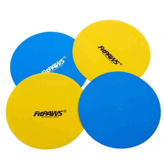 FitPAWS Target, 4 stk. (2 blå, 2 gul)