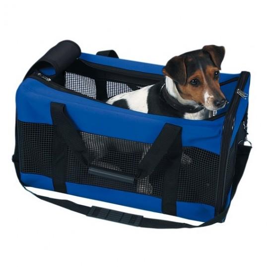 Jamie transporttaske i blå neopren.