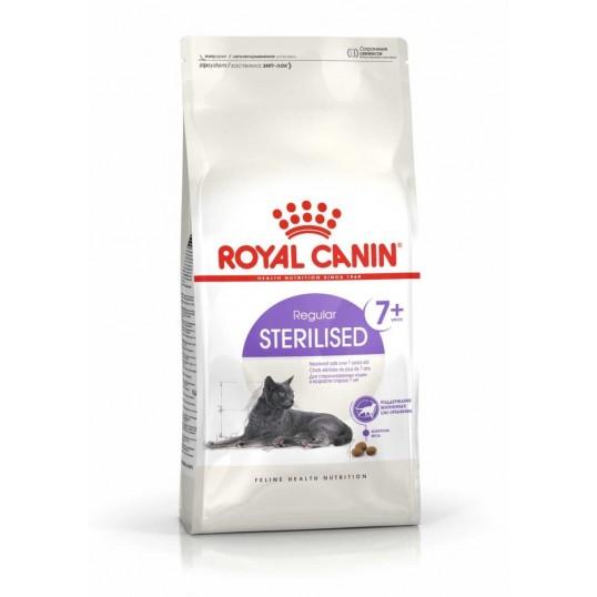 Royal Canin Sterilised 7+. Til steriliserede/kastrerede katte over 7 år