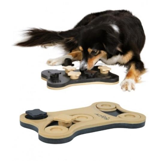 Aktivitets legetøj, Game Bone, kan vendes, Level 1 + 2. plast.