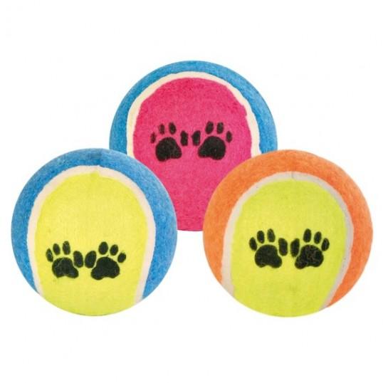 Hundelegetøj Tennisbold m/ poter.