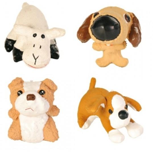 Hundelegetøj i latex. 1 styk