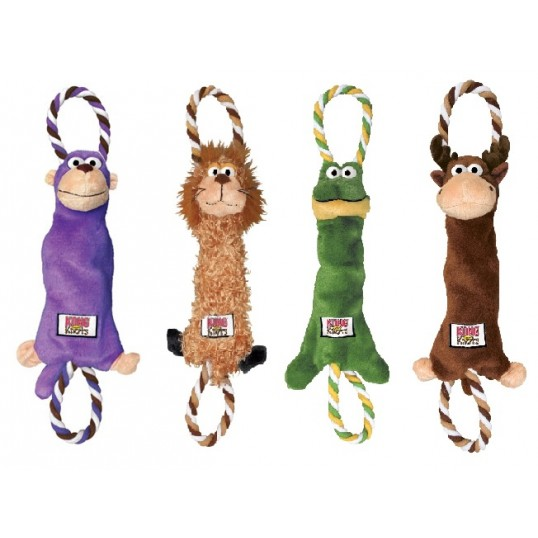Kong Tugger Knots - interaktivt hivelegetøj.