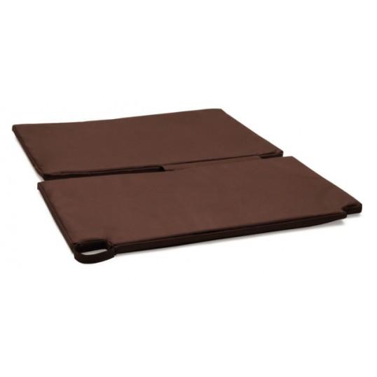 """Therm""""o""""Dog isolering til gulvet, passer til varenummer: 39512. dækker hele gulvet inkl. terasse. farve: brun."""