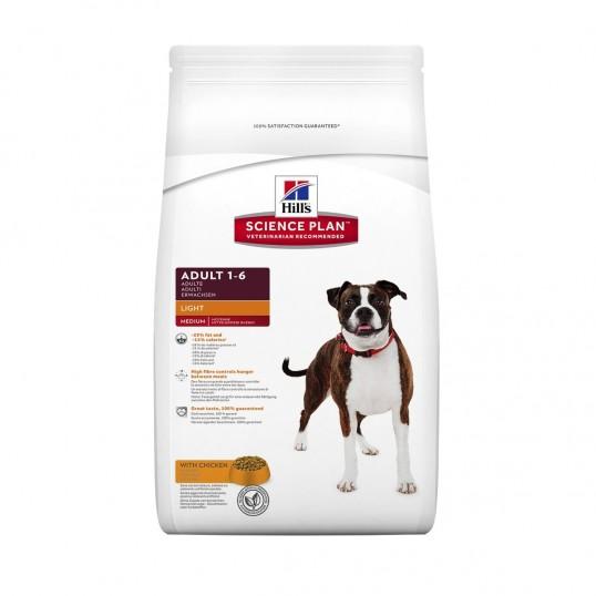 Hill's Science Plan™ Canine Adult Light med kylling 3 kg