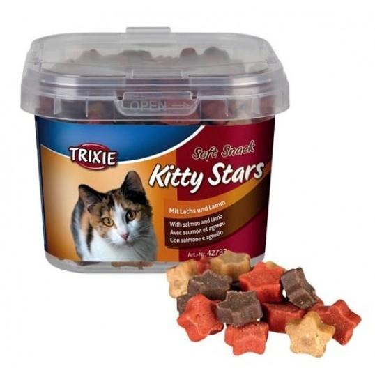 Soft Snack Kitty Stars kattegodbidder. 140 g.