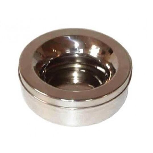Non-splash Bowl Metal, 0,7 liter.