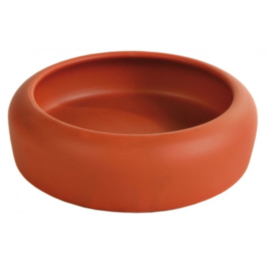 Keramik skål til hamster, mus og andre små gnavere. 250. / ø 10cm. Sendes med fragtmand.