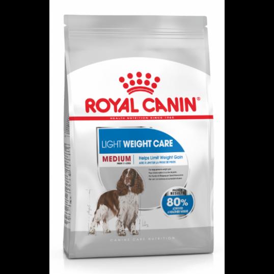 Royal Canin Medium LIGHT Weightcare. Hund med særligt behov. (10kg).