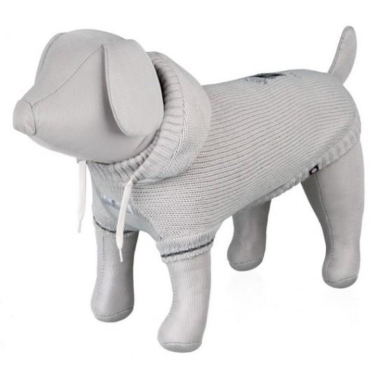 Dog Prince strik-pullover. Grå.