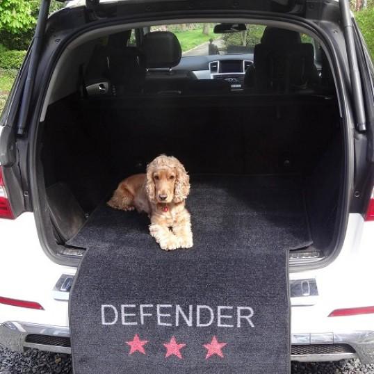 Måtte til bagagerum. Defender.