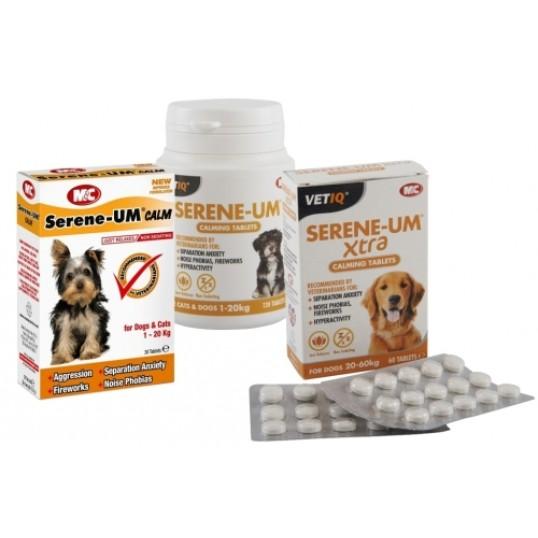 Serene-UM tabletter, flere varianter.