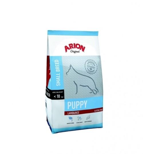 Arion Original Puppy Small breed, Lam & Ris. 7,5 kg.