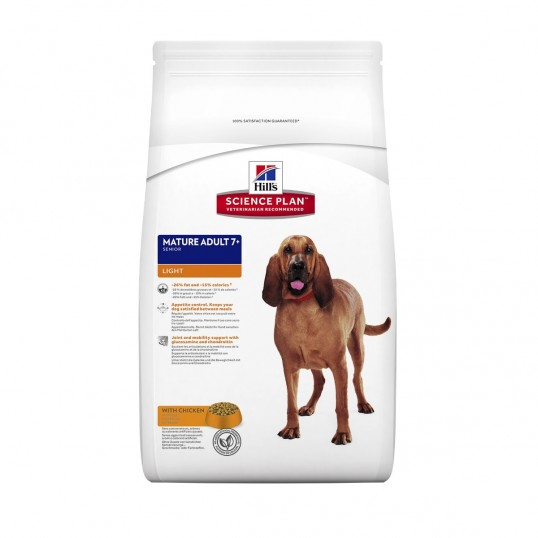 Hill's Science Plan™ Canine Mature Adult 7 plus Light Active Longevity™ med kylling