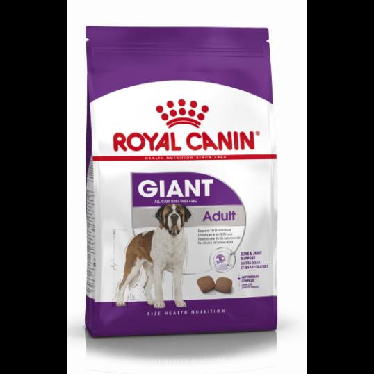 Royal Canin Giant Adult. Over 45 kg. Voksen og moden. Hund. (15kg)