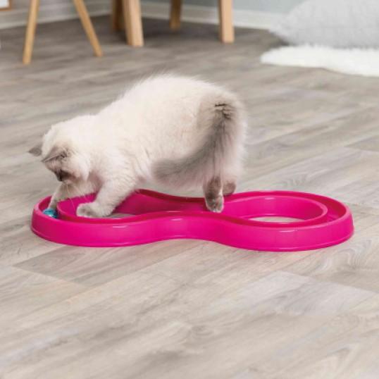 Kattelegetøj Flashing Ball Race.