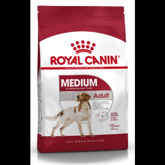 Royal Canin Medium Adult 11-25kg. Voksen og moden hund
