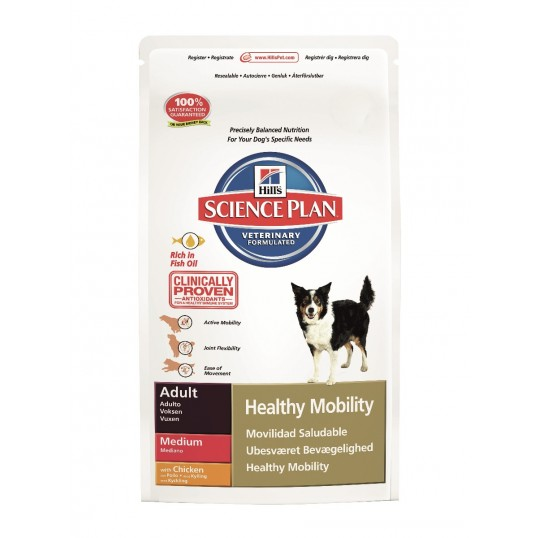 Hill's Science Plan™ Canine Adult Healthy Mobility Medium with Chicken