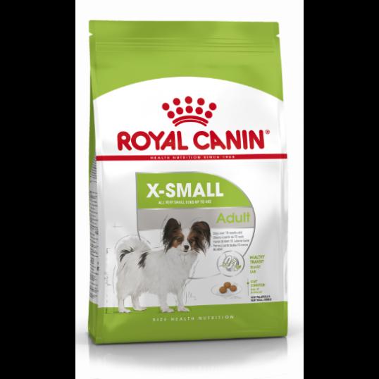 Royal Canin XSmall Adult - over 10 måneder. Voksenvægt op til 4 kg