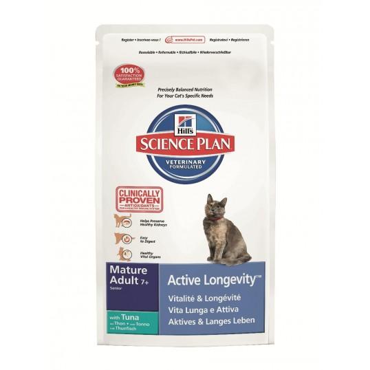Hill's Science Plan™ Feline Mature Adult 7 plus Active Longevity™ with Tuna 2 kg