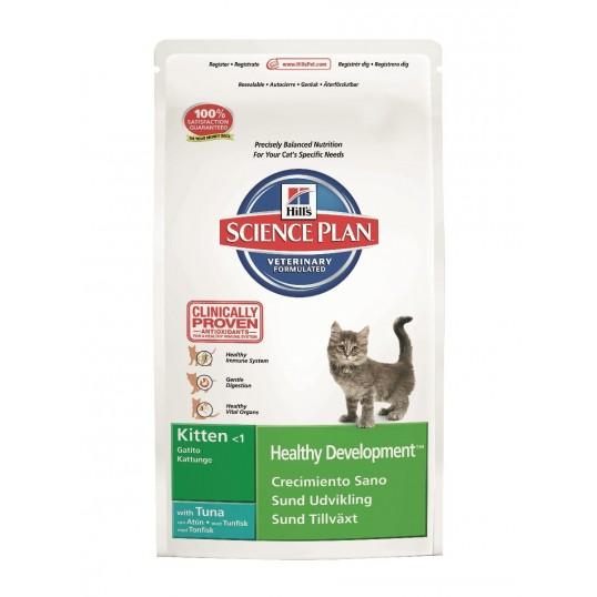 Hill's Science Plan Kat. Kitten with Tuna. Til killinger op til 1 år. -2,0 kg
