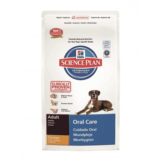 Hill's Science Plan™ Canine Adult Oral Care Chicken 2 kg