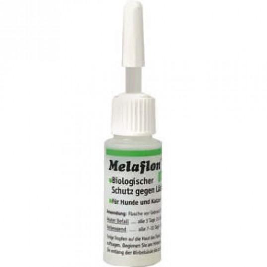 Anibio Melaflon spot on. 10 ml. Beskytter mod lopper og flåter.