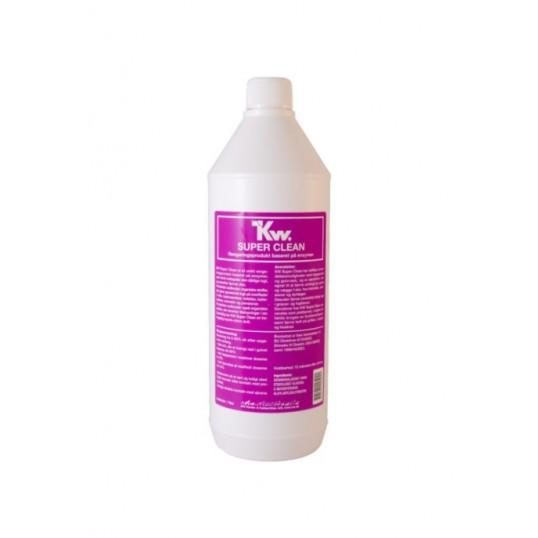 KW Super Clean rengøring - baseret på enzymer. 1 L.