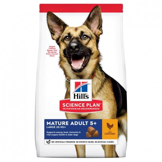 Hill's Science Plan Mature Adult 5+ Large Chicken