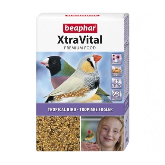 Beaphar XtraVital Premium Complete Food til Tropiske/eksotiske fugle. 500 g.