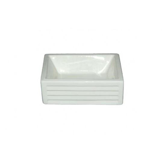 Skål i firkantet keramik