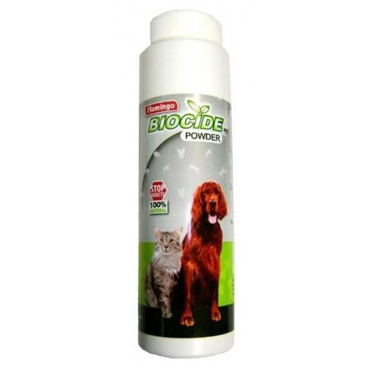 Biocide Øko pudder mod lopper, flåter og andre parasitter. 200 ml