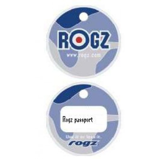 Rogz Passport hundetegn Camo. 2 størrelser.