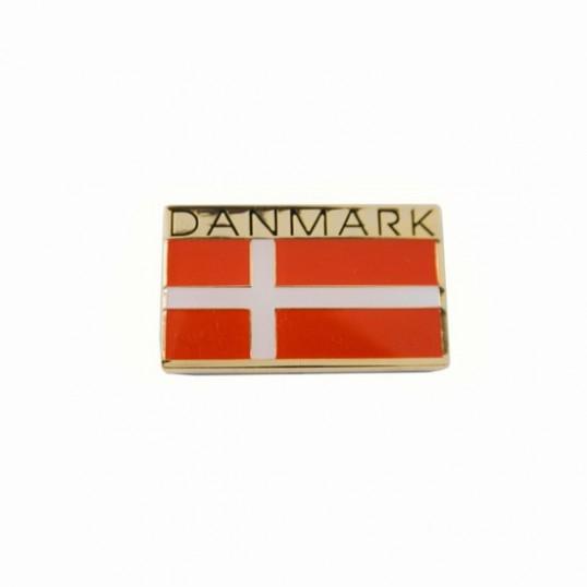 Nål med det Danske flag