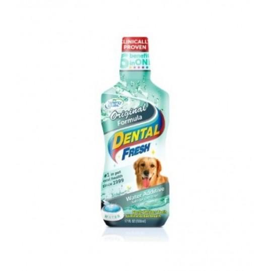 """""""Dental Fresh"""" Dog. 473,17 ml."""