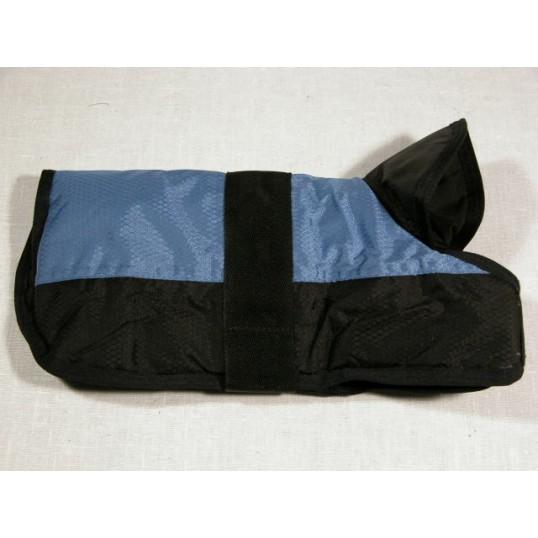 Hundedækken blå/sort ryglængde 50 cm