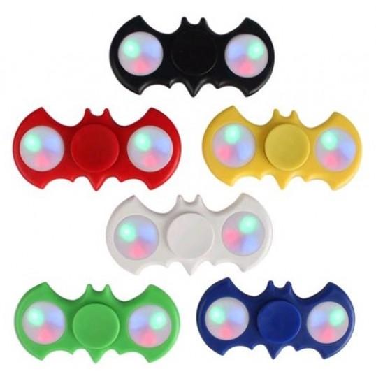 Fidget spinner Batman med Led lys