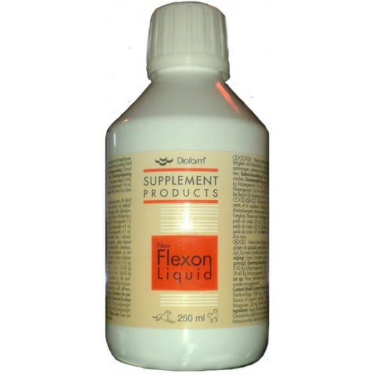 Diafarm Flexon liquid flydende / Glucosamin. 250 ml.